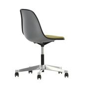 'Eames Plastic Side Chair PSCC' mit Sitzpolster