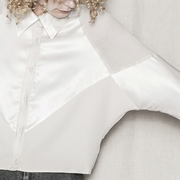Elegante Patchwork-Bluse von 'Berenik'