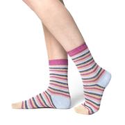 Ringel-Socken mit Lurex von 'PS Paul Smith'