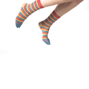 Ringel-Socken mit Lurex von 'PS Paul Smith'