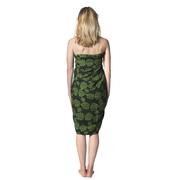 Wunderschöner Sarong 'Daun' in Grün