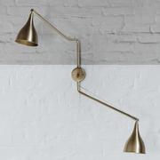 Wandlampe 'Le Six' zweiarmig