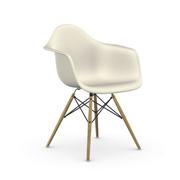 Einzelstück: 'Eames Plastic Armchair DAW' Kieselgrau