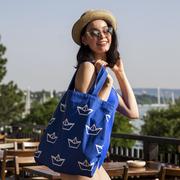Strandtasche und gratis Pocket Bag