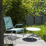 Spaghetti-Lounge-Set mit Armlehnen für den Garten