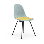 'Eames Plastic Side Chair DSX' mit Sitzpolster