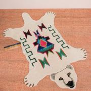 Teppich 'Kasbah Polar Bear'