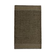 Kleiner Teppich 'Rombo' moosgrün