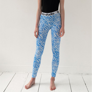 Leggings mit coolem Zebraprint
