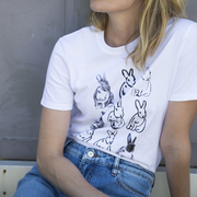 T-Shirt 'Lucky Portrait' von PS Paul Smith