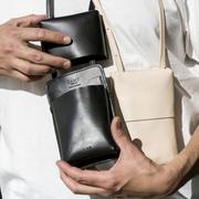 Nachhaltige 'Neck-Bag' in Schwarz