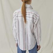Hemdbluse artisanalen Streifen von 'Closed'