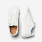 Puristische Wildleder-Sneakers