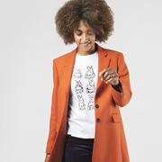 T-Shirt 'Lucky Portrait' von PS Paul Smith