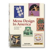 Grafikbuch 'Menu Design in America