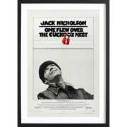 Vintage Filmposter 'One Flew over the Cuckoo's Nest'
