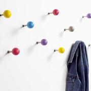 Bunte Wandhaken 'Dots' im Set
