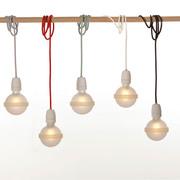 Lampe in verschiedenen Farben