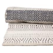 Gemusterter Woll-Teppich