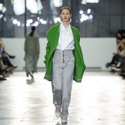 Raffinierte weisse Bluse von 'Nina Yuun'