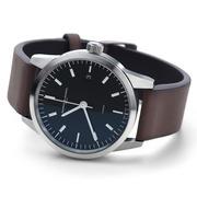Armbanduhr 'L1' mit Leder