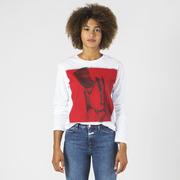Longsleeve 'Red Dada' von Ikou Tschüss