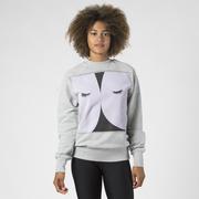Sweater 'Taupe Eye' von Ikou Tschüss
