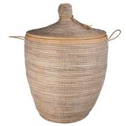 Traditioneller Korb 'Reeds' mit Deckel