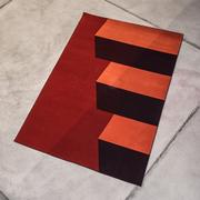 Grafischer Teppich 'Frietjes III'