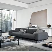 Klassiches Sofa 'Naviglio' in Stoff