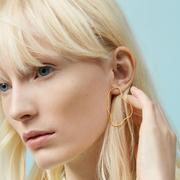 Organische Ohrringe von 'Claudia Nabholz'