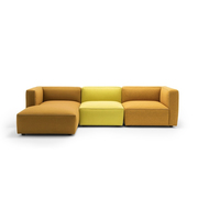 Sofa 'Dado' mit Chaiselongue