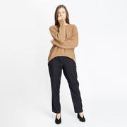 Nachhaltiger Strick-Sweater in Camel
