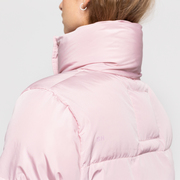 Warme Stepp-Jacke von 'Selfhood' in Rosé