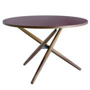 Einzelstück 'Ess.Tee.Tisch' in Burgundy