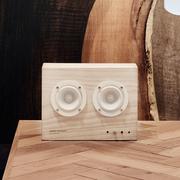 Kleiner Lautsprecher aus Esche