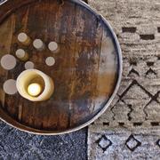 Handgeknüpfter Teppich 'Bereber'