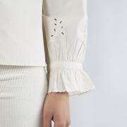 Verspielt-rustikale Hemdbluse von 'Soeur'