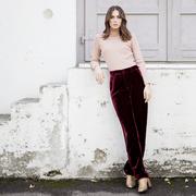 Elegante Samt-Hose von 'Claudia Nabholz'