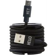 Micro-USB Ladekabel von 'Design Letters'