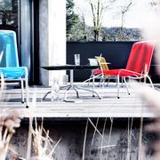 Spaghetti-Lounge-Set für den Garten