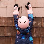 Kids-Skihelm von 'Namuk' in Rosa