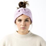 Warmes Stirnband aus Baby-Merinowolle