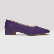 Coole Square-Pumps in Violett