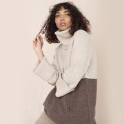 Nachhaltiger Colorblock-Pullover