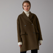 Cooler Mantel mit Kaschmir von 'Closed'