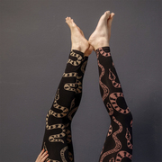 Für Yoga und Party: Leggings 'Medusa'