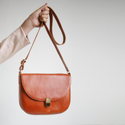 Satteltasche mit Schnalle von 'Alex Bender'