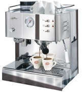 Grosse 'Quick Mill'-Kaffeemaschine