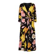 Wunderschönes Blumenprint-Kleid in Midilänge
